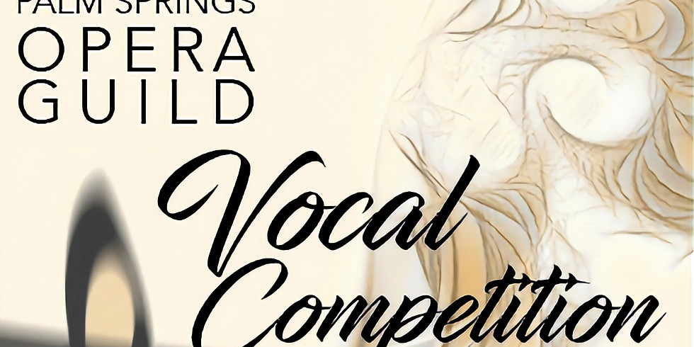 Palm Springs Opera Guild Vocal Competition