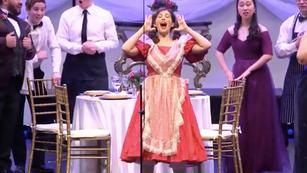 As Olympia in CBU's Valentine Opera Gala