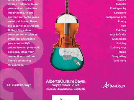 Alberta Culture Days Feature Celebration Site
