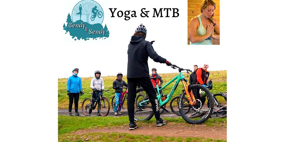 BENDY & SENDY WEEKEND - Mountain bike and yoga In Devon