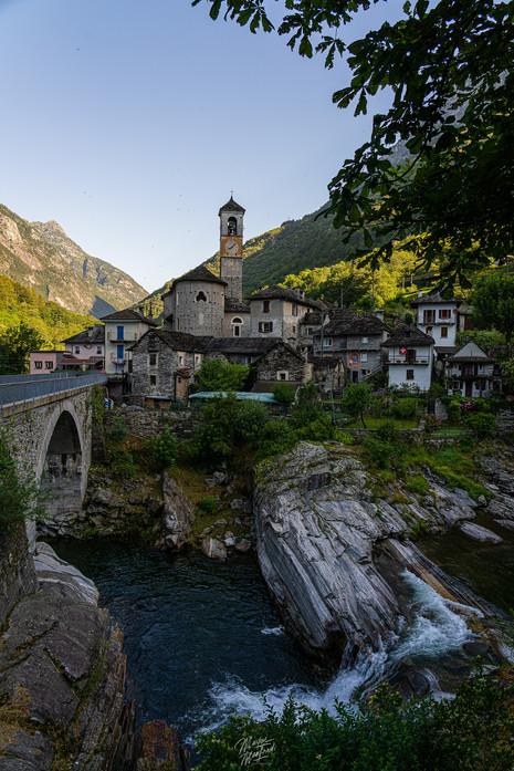 Morning in Lavertezzo