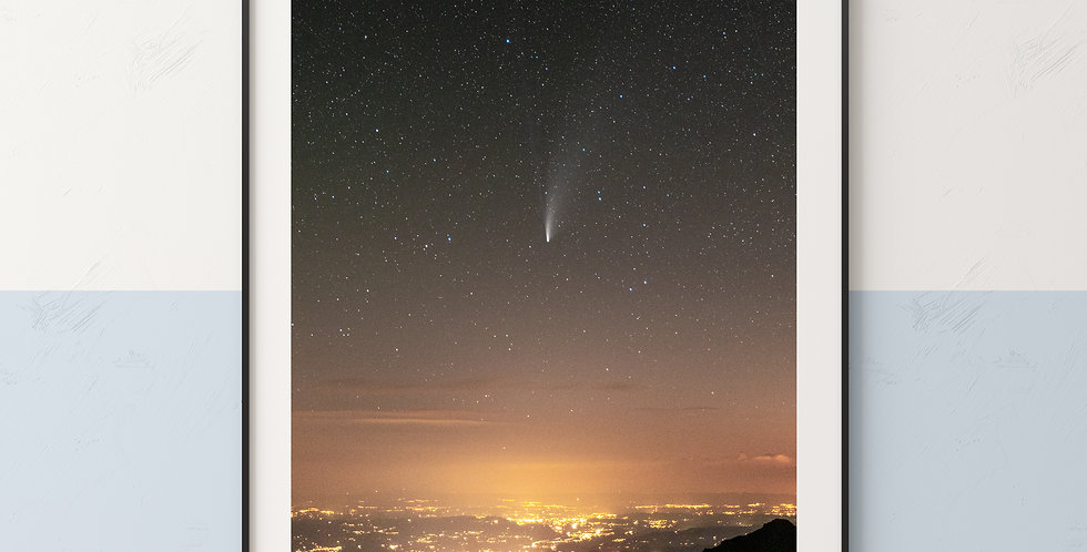 Comet Neowise Night