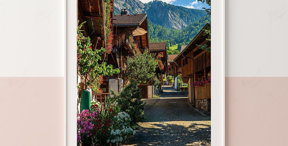 Old Town of Brienz