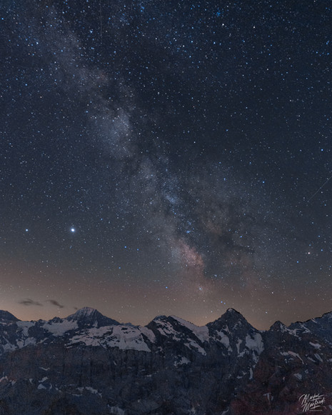 Milkyway in the Bernese Mountains