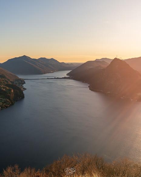 Mountains in Lugano