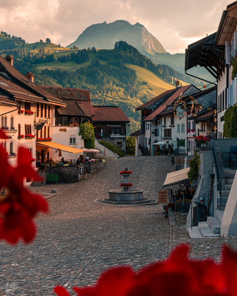 Beautiful Village, Gruyere