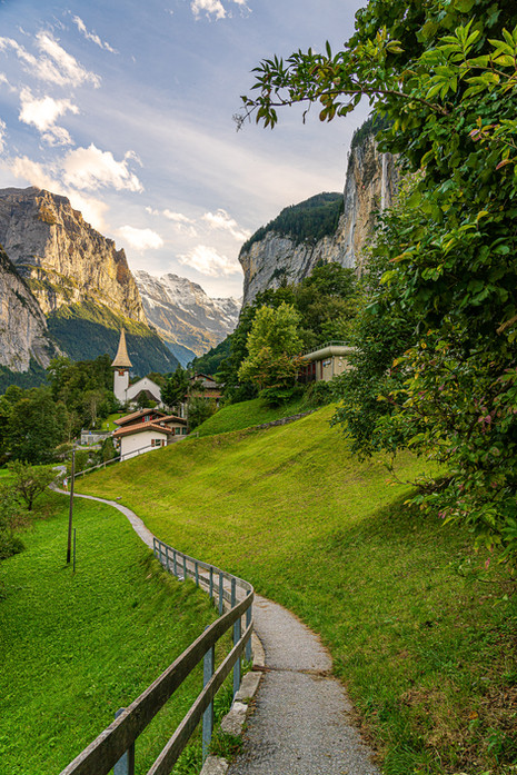 Classic View of Lauterbrunnen