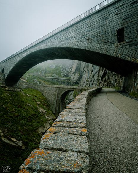 Devils Bridge in Switzerland