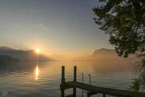 Morning in Lucerne Lake