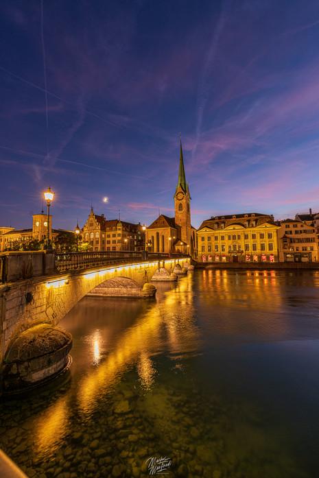 Zurich City at Night