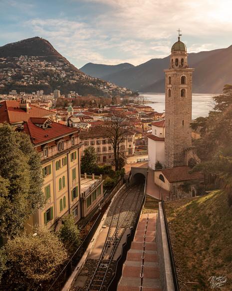 Morning in Lugano