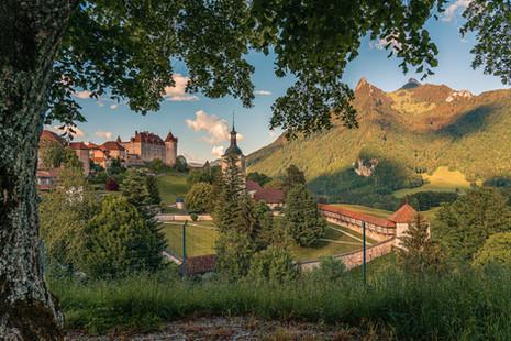 Castle Gruyères, Switzerland