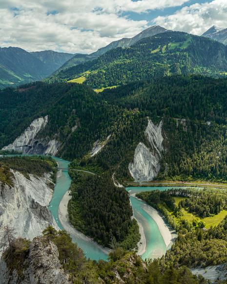Rheinschlucht, Switzerland