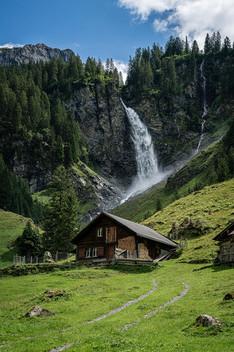 Beautiful Waterfall in Uri