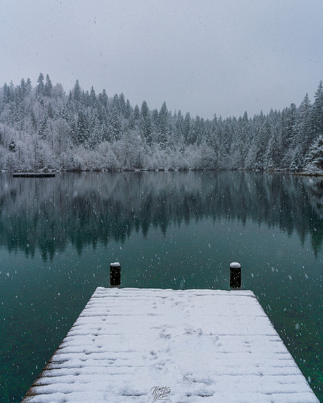 Winter Mood at Crestasee