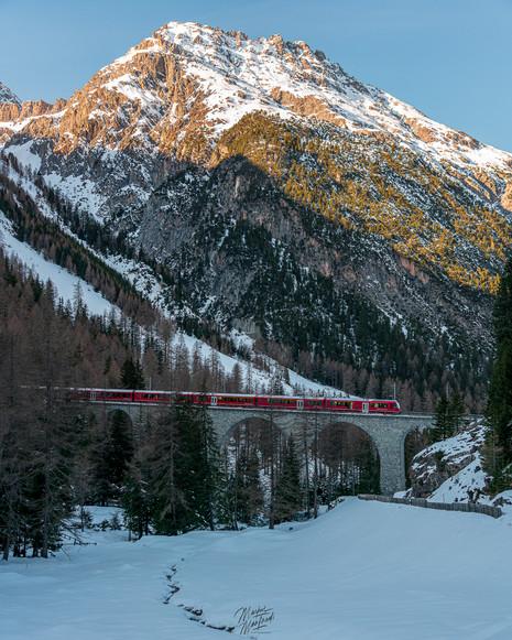 Albula Valley, Graubünden, Switzerland