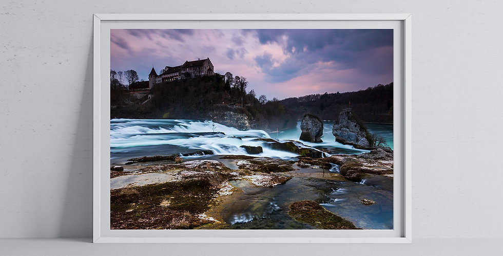 Rheinfall Sunset