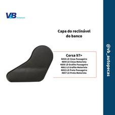 Capa do reclinável do banco