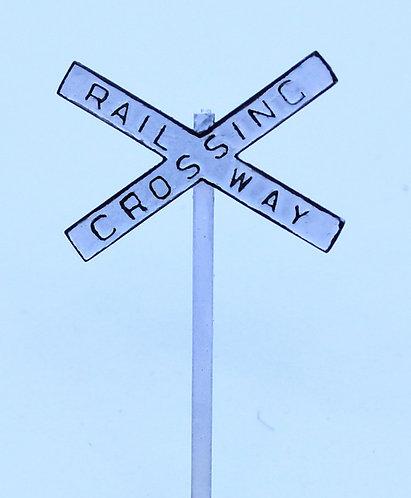 Level Crossing crossbuck (2)