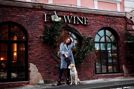 """Стелла в """"I like wine"""" на Тимура Фрунзе"""