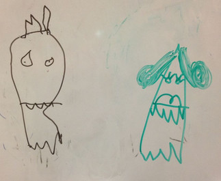 VIDEO: Redrawing My Daughter's Whiteboard Ghosts