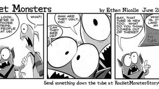 Rocket Monsters, an Interactive Comic Strip