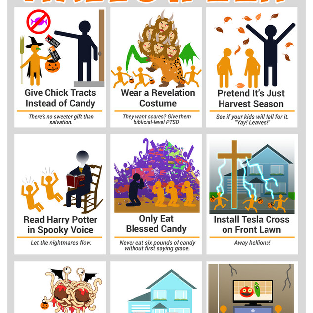 How to Have a Godly Halloween
