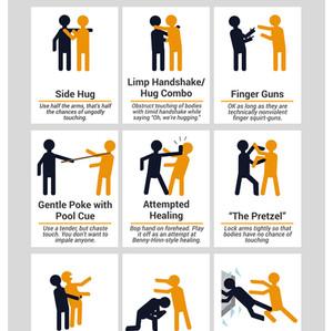 Hug Alternatives