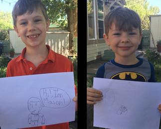 Featured Creators: Mason & Connor