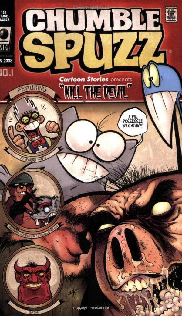 Chumble Spuzz vol1: Kill the Devil