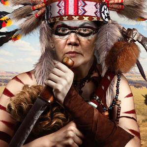 Warren's Indian Costume
