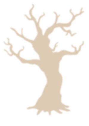 枯れて元気のない木