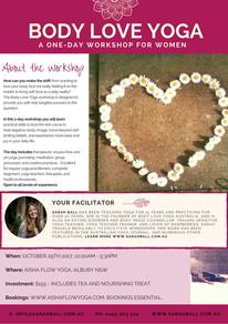 Body Love Yoga Albury 2017