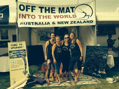 Off The Mat Leadership Team, 2014