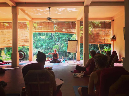 Bali Level 2 Yoga Teacher Training Retreat 2018 with Ray of Light