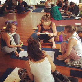 • DAYS 2 & 3 of TRAINING IN YOGA FOR TRA