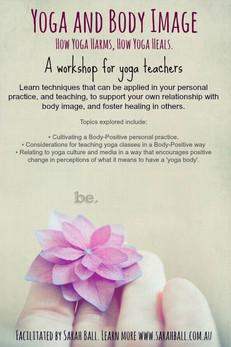 Yoga and Body Image for Yoga Teachers