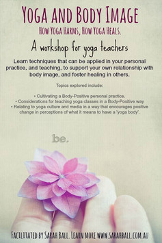 Yoga and Body Image for Yoga Teachers
