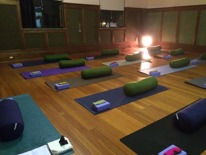 Yoga for Anxiety and Depression - week one.