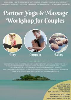 partner yoga and massage workshop