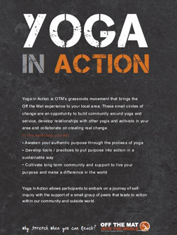 """Off The Mat """"Yoga in Action"""" 7-week course"""
