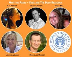 World Yoga Day Panel