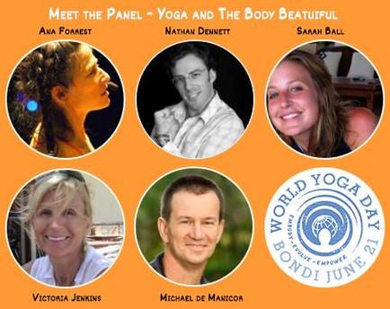 World Yoga Day Panel 2015