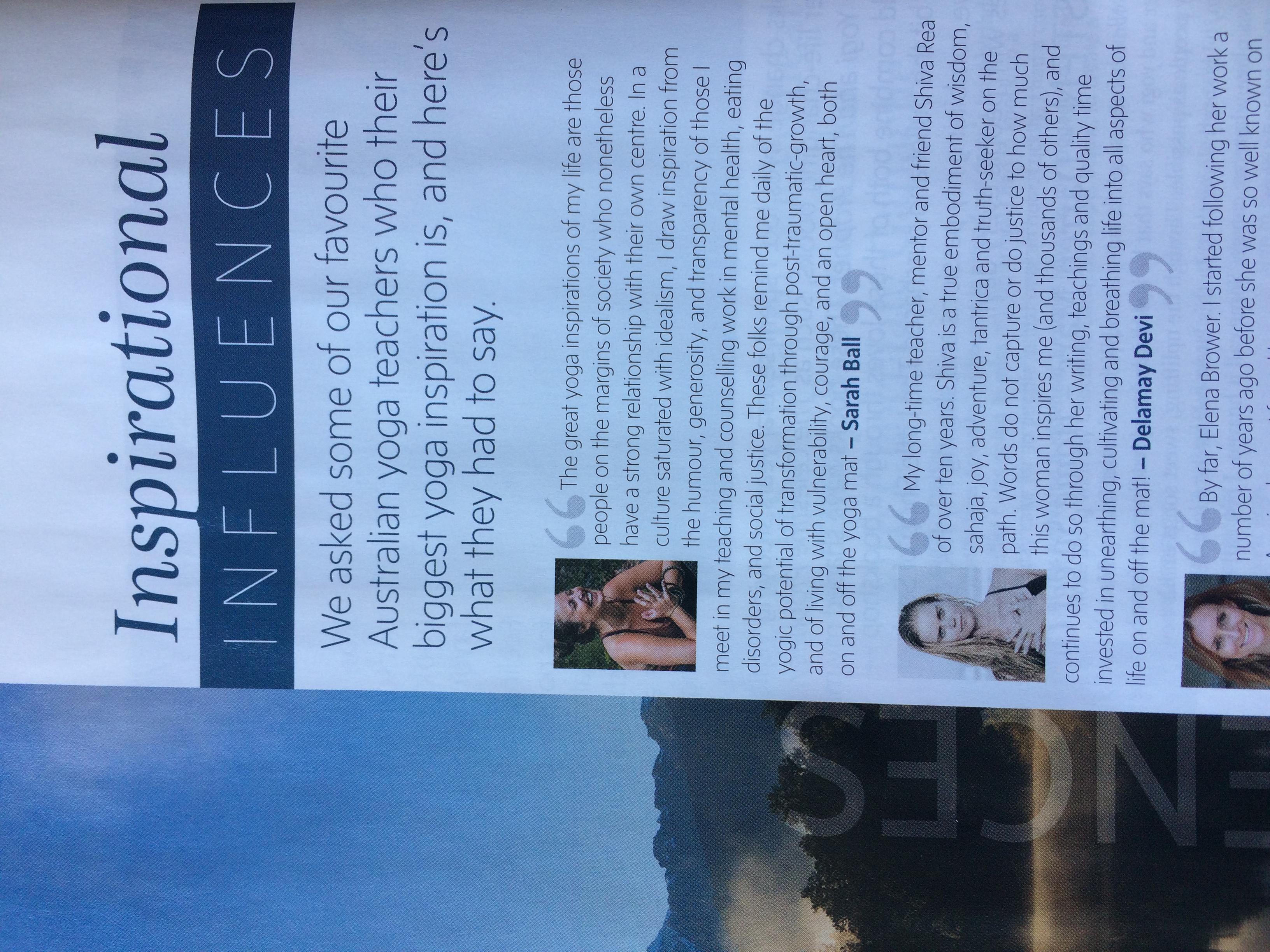 Australian Yoga Journal, Issue 63