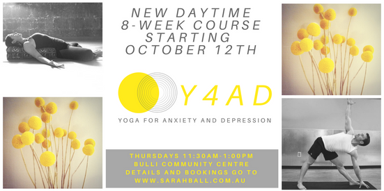 Yoga for Anxiety and Depression Daytime Course