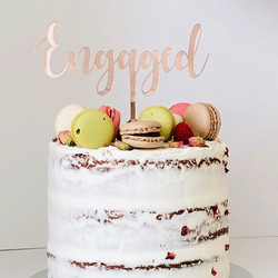 ENGAGEMENT TOPPERS