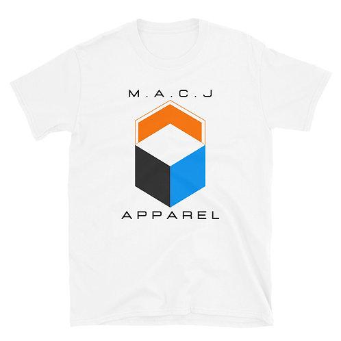 M.A.C.J Apparel Unisex Short-Sleeve T-Shirt (White)