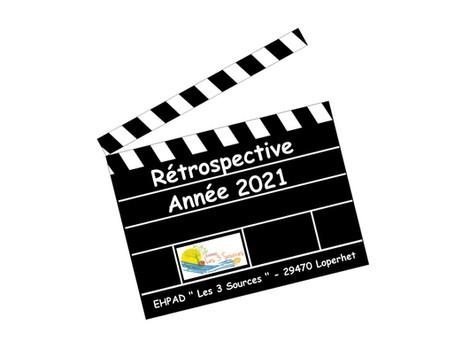Vidéo rétrospective de l'année 2021