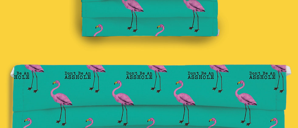 Don't Be An A$$hole Flamingos Combo