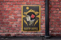 Blacktop Choppers Poster Design